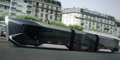 Tram R1  Трамвай R1  by Yegor Kalynychenko, via Behance
