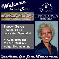 """Life Changes Realty Group is very proud to announce that Tracy Seiger has joined our team. She is a perfect Life Changes Realty Group fit - this Realtor takes our motto of """"relationships... not transactions"""" to a higher level. Please give her a warm welcome with us. Thanks for partnering with us to make us even better. — with Tracy Griel Seiger."""