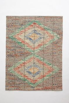 Kilim Pop Stitch Rug - anthropologie.com