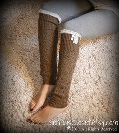 Adorable leg warmers with a hint of lace by Grace and Lace on Etsy!!  Please re-pin so I can win them!! :)