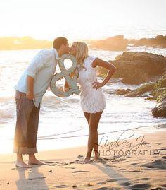Ampersand Photo Prop Wedding Engagement Photoshoot by DebbieSaenz