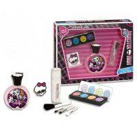 Disney Monster High - detská EDT 50 ml + očné tiene + tetovanie + štetce na make-up