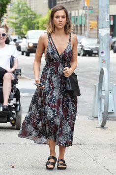 Jessica Alba - Celebrity Summer Street Style Pictures   Harper's Bazaar