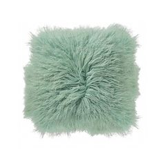 Tibetan Lamb Pillow - Mint | ShopPigment