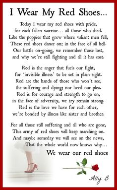 I Wear My Red Shoes - made to illustrate my friends poem x #pinyourlove #picmonkey