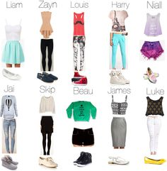 """""""Errands with One Direction and The Janoskians"""" by niall-horans-honey ❤ liked on Polyvore"""