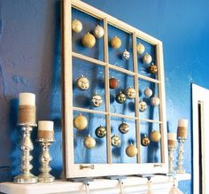 19 Creative Ways Of Decorating With Ornaments Without A Tree #diyhomedecor #diycrafts #decor