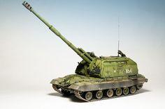 МСТА-С — Каропка.ру — стендовые модели, военная миниатюра