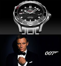 Omega Seamaster James Bond 007 Limited Edition | www.majordor.com Breitling Watches, Rolex Watches For Men, Luxury Watches For Men, Cool Watches, Dream Watches, Men's Watches, Omega 007, Omega Seamaster James Bond, Weight Training Schedule