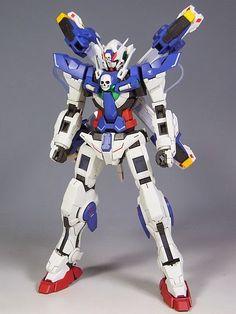 GUNDAM GUY: MG 1/100 Exia Gundam X - Customized Build
