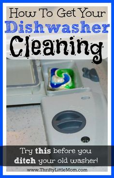 How to get your dishwasher cleaning again.  Spots and specks keep coming up?  Before you ditch your washer try this out!  It might save you some cash!