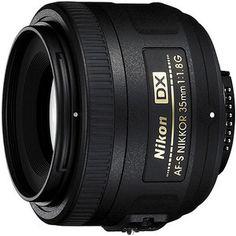 Nikon Nikkor 35mm Lens f/1.8G AF-S, DX  So curious!