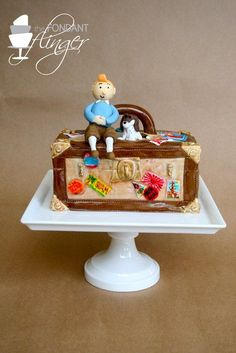 Adventures of TinTin Cake