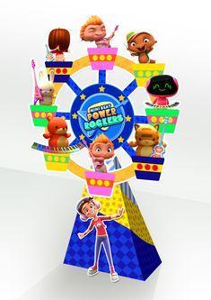 RODA gigante power rock -guloseimas  26 cm aproximadamente R$7,00 Baby Beat, Rockers, George Pig, Baby Rocker, Ideas Para Fiestas, Fiesta Party, Birthday Party Themes, Event Planning, Birthdays