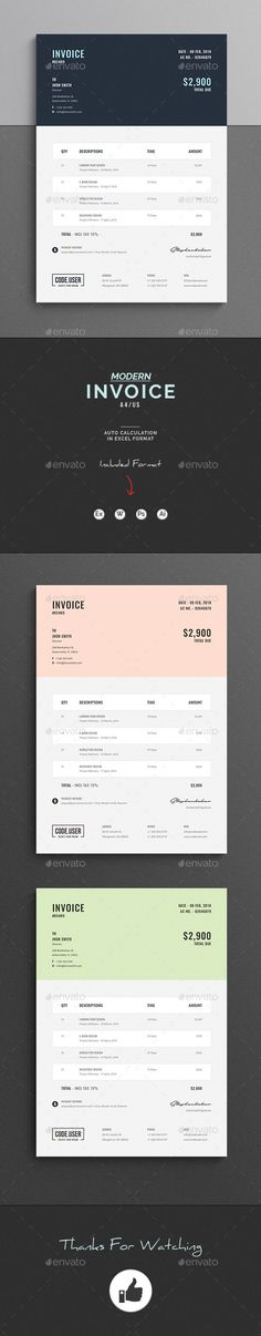 How To Make A Invoice In Excel Simple Vat Tax Invoice Template  Excel Templates  Pinterest