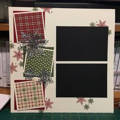 Christmas Scrapbook Layouts, 12x12 Scrapbook, Scrapbook Sketches, Scrapbook Page Layouts, Scrapbook Paper Crafts, Yearbook Layouts, Childrens Christmas, Stampin Up Christmas, Creative Memories