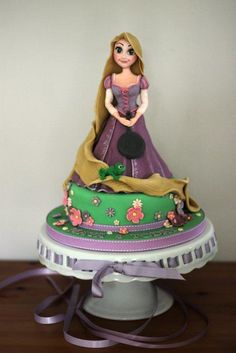 Rapunzel from Tangled by Zoe's Fancy Cakes, who also has a You Tube channel, check out her fb page! they are fab :)