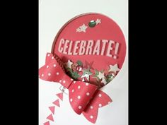 Stampin' Up! Shaker Cards that won't fail - YouTube