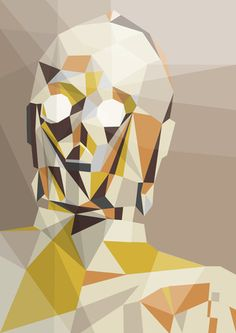 Gorgeous, graphic C3PO. Awesome!