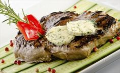Achieve the ultimate steak nirvana with this flavorful topping! Blue Cheese Butter Topping for Steak
