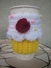Ravelry: Cupcake Cozy pattern by April Reis