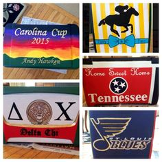 Carolina cup home sweet home Tennessee,  st. Louis Blues Delta chi ΔΧ sunset cooler