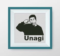 Unagi. Friends cross stitch pattern PDF by NataliNeedlework