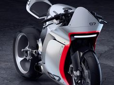 Huge Moto's Honda 'cafe fighter' conversion melted the EXIF servers. Now they're tackling their most ambitious project yet: the MONO RACR. Moto Bike, Motorcycle Bike, Yamaha Scooter, Super Bikes, Motos Retro, Futuristic Motorcycle, Retro Futuristic, Motorbike Design, Concept Motorcycles
