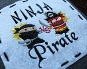 Ninja v. Pirate...the age old question