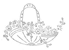 vintage embroidery transfers | ... » Blog Archive » Royal Society Embroidery Transfers — Baskets