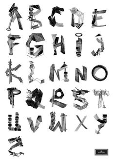 Alphabet Prints from Adventures to Ice Cream Typography Alphabet, Alphabet Print, Typography Fonts, Graphic Design Typography, Lettering Design, Letter Collage, Abc Poster, Posters, Art Hoe Aesthetic