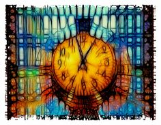 New York City Photo Grand Central Station Clock by KateRyanFineArt