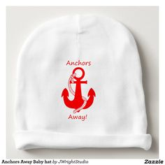 Anchors Away Baby hat