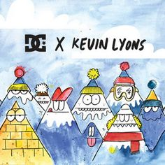DC x Kevin Lyons Collection  http://www.boardaction.eu/dc-x-kevin-lyons-collection/#more-8373