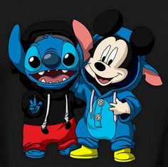Disney Drawing Stitch [as Mickey Mouse] Cute Disney Drawings, Cute Animal Drawings, Kawaii Drawings, Cute Drawings, Arte Disney, Disney Art, Mickey Mouse, Cute Stitch, Disney Phone Wallpaper