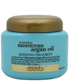 Organix Renewing Moroccan Argan Oil Renewing Treatment Hair Mask-My favorite affordable hair mask. It makes my hair so soft, and it smells great. Argan Oil Treatment, Hair Treatment Mask, Hair Treatments, Big Hair Dont Care, Hair Care, Argan Oil Hair Mask, Moroccan Oil, Hair Care Tips