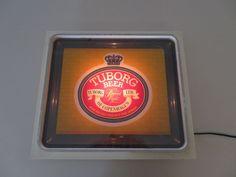 Vintage World Famous Tuborg Gold Brewing Bar & Pub Light Up Sign   eBay