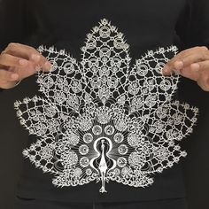 Japanese Artist Hand-Cuts Insanely Detailed Paper Art (Bored Panda)