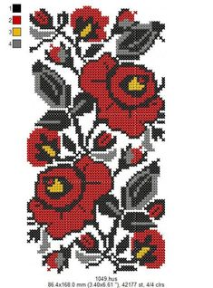 Cross Stitch Rose, Cross Stitch Baby, Cross Stitch Flowers, Embroidery Fonts, Embroidery Patterns, Hand Embroidery, Cross Stitch Designs, Cross Stitch Patterns, Cat Cross Stitches