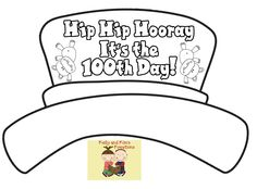 School 100th day on pinterest 100th day printables and for 100th day hat template