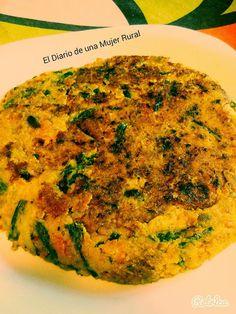TODAS LAS RECETAS : Tortilla de verduras sin huevo