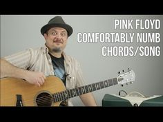 Pink Floyd - Comfortably Numb - Chords, Song Tutorial - How to Play On Guitar Lead Guitar Lessons, Blues Guitar Lessons, Acoustic Guitar Lessons, Music Lessons, Acoustic Guitars, Guitar Tips, Piano Lessons, Guitar Chords And Lyrics, Music Guitar