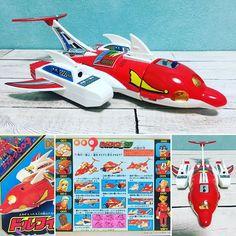 #サイボーグ009#toystagram #instagood #toycollection#タカトク#超合金#ドルフィンⅡ世号#最近の流行りに乗っかって✨作品の人気に反してオモチャが少ないのが悲しい