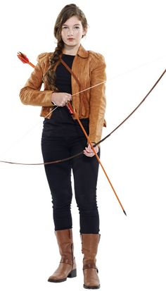 Katniss Everdeen from The Hunger Games will be a costume favorite this year for sure!