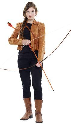 Katniss Eberdeen from Hunger Games, DIY Halloween Costume Easy Costumes, Super Hero Costumes, Girl Costumes, Costume Ideas, Costume Box, Halloween Costume Contest, Cute Halloween Costumes, Halloween Kostüm, Halloween Decorations