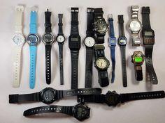 Casio Estate Lot Of 16 Men and Womens Wristwatches 1lbs Quartz  #A-81-17 NR #Casio