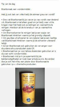 Bicarbonaat, een wondermiddel?