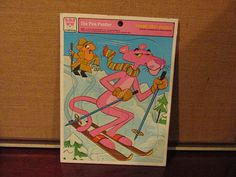 The Pink Panther 1977 Whitman Frame Tray Puzzle for Coordination and Motor Control Development Cartoon Collectible https://img1.etsystatic.com/045/0/6138777/il_570xN.671201505_cn6l.jpg $10
