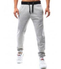 Šedé pánske teplákové nohavice Sweatpants, Fashion, Moda, Sweat Pants, Fasion, Training Pants