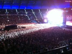 """Brian May after the Wroclaw show """"Thank you Wrocklaw"""" 